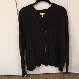 Urban Outfitters zipper sweater Silence + Noise